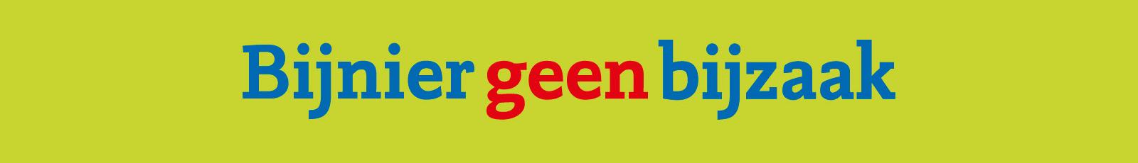 logo http://www.bijniergeenbijzaak.nl